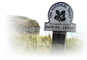 image: National Trust signpost